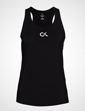 Calvin Klein Performance singlet, Tank Logo T-shirts & Tops Sleeveless Svart CALVIN KLEIN PERFORMANCE