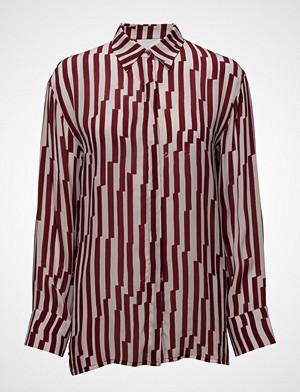 2nd Day skjorte, 2nd Casual Langermet Skjorte Rød 2NDDAY