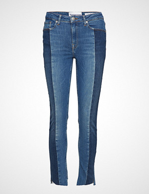 Tomorrow jeans, Bob Cropped Jeans Wash Brighton Skinny Jeans Blå TOMORROW