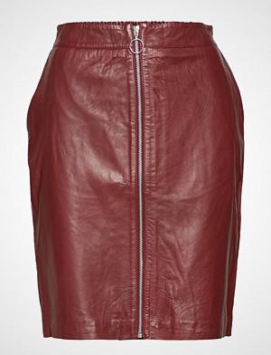 Saint Tropez skjørt, Leather Pencil Skirt