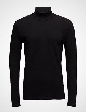Merkur T N Ls 200 T shirts Long sleeved Svart Samsøe & Samsøe