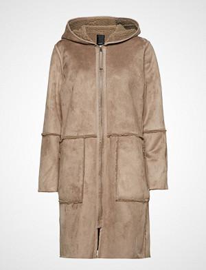 Soyaconcept Sc-Marielle Outerwear Faux Fur Beige Soyaconcept