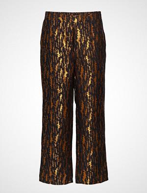 Lollys Laundry bukse, Folke Pants Bukser Med Rette Ben Multi/mønstret LOLLYS LAUNDRY