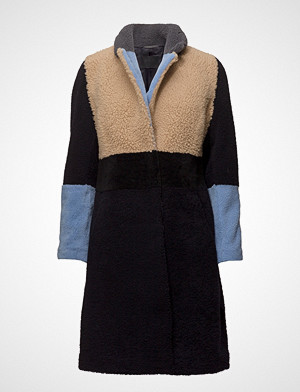 2nd Day 2nd Teddy Outerwear Faux Fur Multi/mønstret 2NDDAY