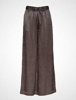 J.Lindeberg bukse, Kourtney Metallic Drapy Vide Bukser Grå J. LINDEBERG