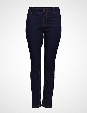 Zizzi jeans, Jeans Long, Nille Ex. Slim Skinny Jeans Blå ZIZZI