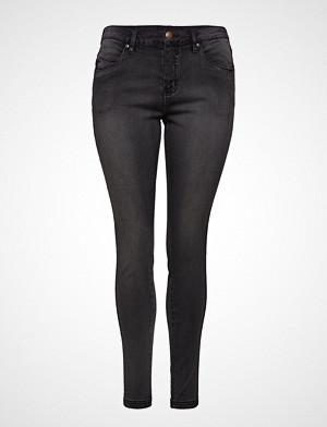 Zizzi jeans, Jeans, Long, Amy, Super Slim Skinny Jeans Grå ZIZZI