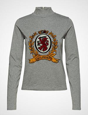 Hilfiger Collection genser, Luxury Crest Mock Neck Tshirt Ls