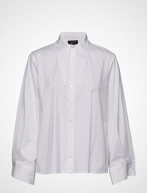 Selected Femme skjorte, Slfberina Ls Collar Tie Shirt B Langermet Skjorte Hvit SELECTED FEMME
