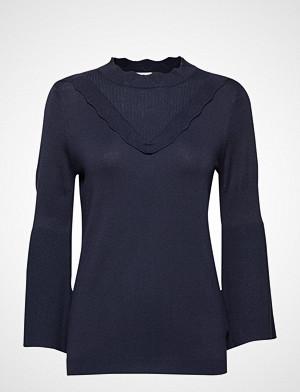 Kaffe genser, Lulu Astrid Pullover- Min 16 Pcs. Strikket Genser Blå KAFFE