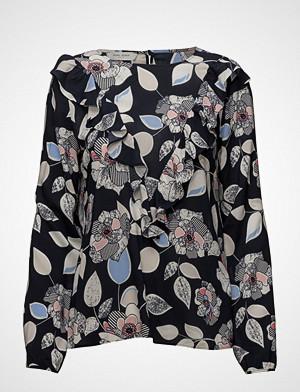 Gerry Weber Edition bluse, Blouse Long-Sleeve Bluse Langermet Blå GERRY WEBER EDITION