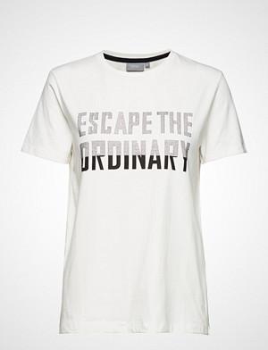 B.Young T-skjorte, Pandina Rhinest Tshirt - T-shirts & Tops Short-sleeved Hvit B.YOUNG
