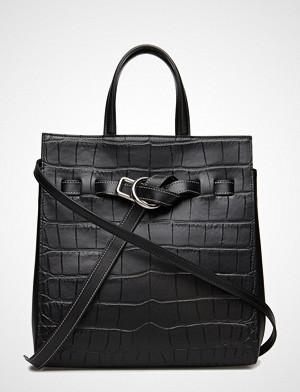 Little Liffner Belted Mini Tote Bags Top Handle Bags Svart LITTLE LIFFNER