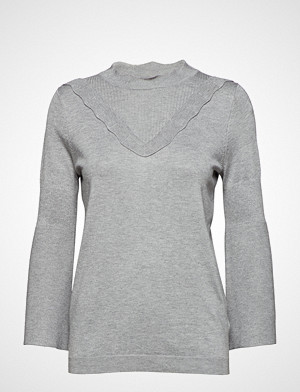 Kaffe genser, Lulu Astrid Pullover- Min 16 Pcs. Strikket Genser Grå KAFFE