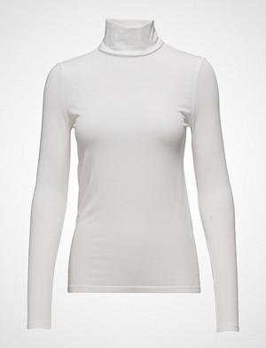 Wolford T-skjorte, Viscose Pullover T-shirts & Tops Long-sleeved Hvit WOLFORD