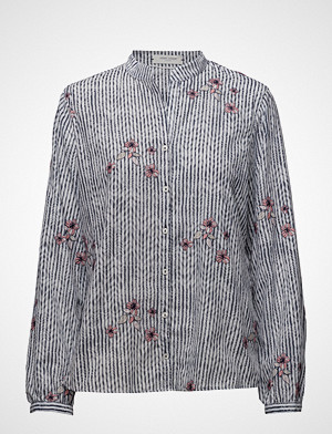 Gerry Weber Edition bluse, Blouse Long-Sleeve Bluse Langermet Blå GERRY WEBER EDITION