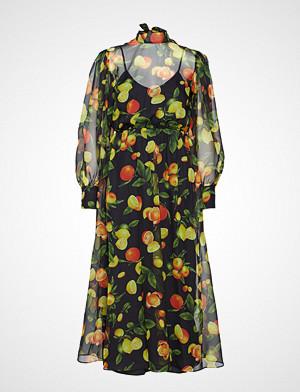 MSGM kjole, Dress Knelang Kjole Multi/mønstret MSGM