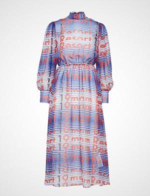 MSGM kjole, Dress Knelang Kjole Rød MSGM