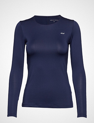 Röhnisch T-skjorte, Lasting Long Sleeve T-shirts & Tops Long-sleeved Blå RÖHNISCH