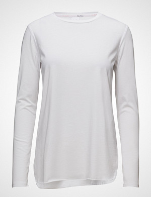 Max Mara Leisure T-skjorte, Lawia T-shirts & Tops Long-sleeved Hvit MAX MARA LEISURE