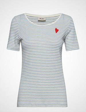 Mos Mosh T-skjorte, Kenia Glam Stripe O-Neck