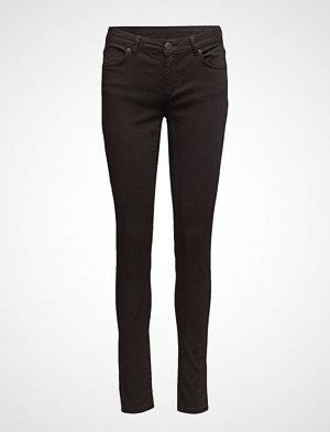 2nd One jeans, Nicole 006 Moon Black Satin, Jeans