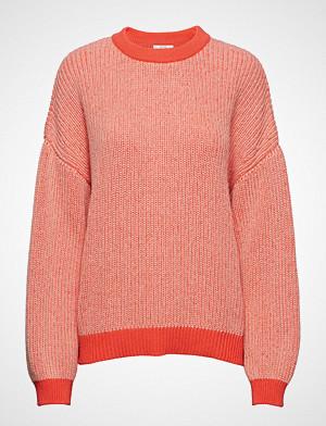 Dagmar genser, Luna Strikket Genser Oransje DAGMAR