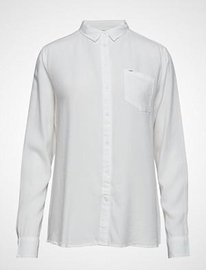 Lee Jeans bluse, Pocket Shirt Bluse Langermet Hvit LEE JEANS