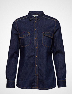 Marc O'Polo skjorte, Denim Shirt Langermet Skjorte Blå MARC O'POLO