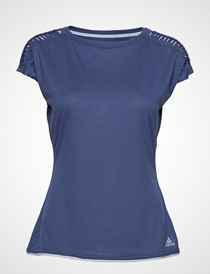 adidas Tennis T-skjorte, Melbourne Tee W T-shirts & Tops Short-sleeved Blå ADIDAS TENNIS
