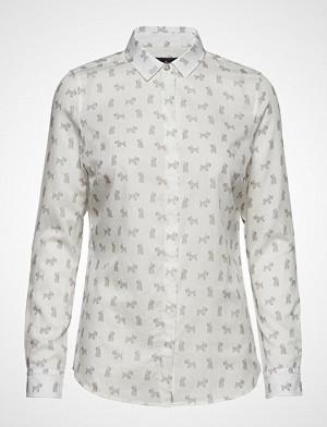 Barbour skjorte, Barbour Greyfriars Shi Langermet Skjorte Hvit BARBOUR