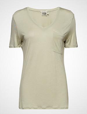 Twist & Tango T-skjorte, Iris Pocket Tee T-shirts & Tops Short-sleeved Creme TWIST & TANGO