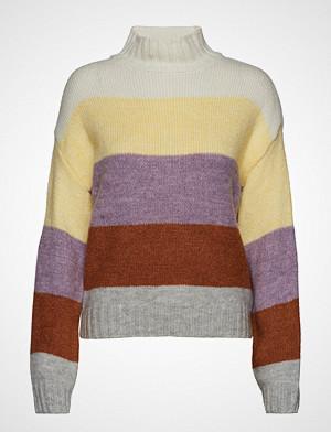 Gina Tricot genser, Sandra Knitted Sweater Strikket Genser Multi/mønstret GINA TRICOT