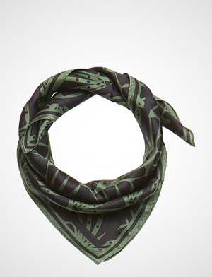 DAY et skjerf, Day Silk Art Deco Scarf Mini Skjerf Svart DAY ET