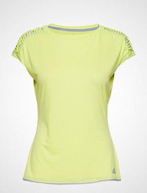 adidas Tennis T-skjorte, Melbourne Tee W T-shirts & Tops Short-sleeved Gul ADIDAS TENNIS