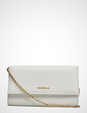Coccinelle Metallic Soft Bags Small Shoulder Bags/crossbody Bags Creme COCCINELLE