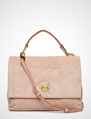 Coccinelle Liya Suede Bags Top Handle Bags Rosa COCCINELLE