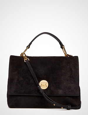 Coccinelle Liya Suede Bags Top Handle Bags Svart COCCINELLE