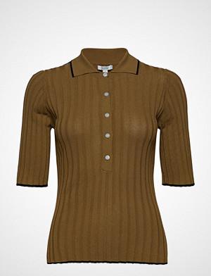Dagmar T-skjorte, Ella T-shirts & Tops Short-sleeved Brun DAGMAR