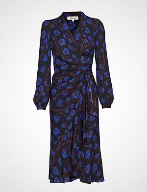 Diane von Furstenberg kjole, Dvf Carla Two Knelang Kjole Blå DIANE VON FURSTENBERG