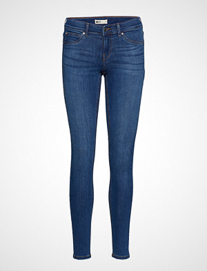 Gina Tricot jeans, Skinny Low Waist Superstretch Slim Jeans Blå GINA TRICOT