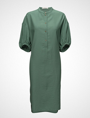 ÁERON kjole, Long Gathered Sleeve Dress