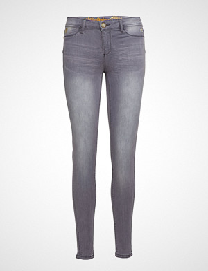 Desigual jeans, Denim Kentya Skinny Jeans Grå DESIGUAL