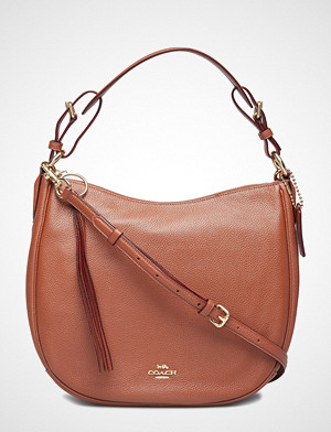 Coach håndveske, Polished Pebble Leather Sutton Hobo