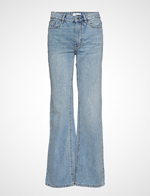 Mango bukse, Decorative Seam Flared Jeans