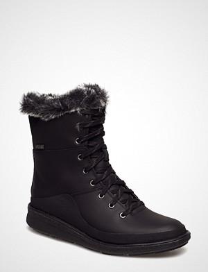 Merrell boots, Tremblant Ezra Lace Wp Ice+ Snørestøvletter Støvletter Svart MERRELL