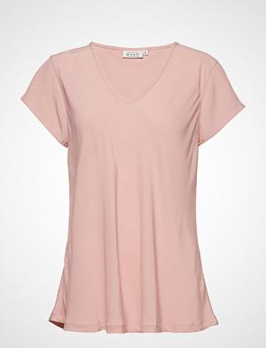 Masai T-skjorte, Kallo Top T-shirts & Tops Short-sleeved Rosa MASAI