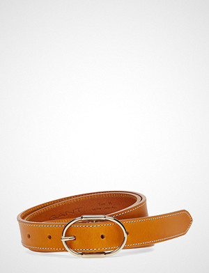 Gant belte, D1. Contrast Stitch Belt Belte Oransje GANT