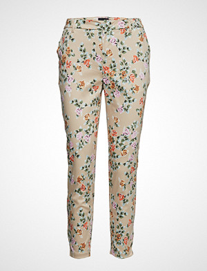 Pulz Jeans bukse, Pzclara Pant Bukser Med Rette Ben Multi/mønstret PULZ JEANS