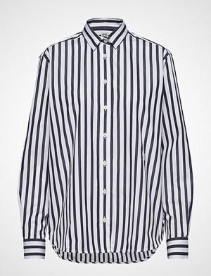 Totême skjorte, Capri Langermet Skjorte Hvit TOTÊME